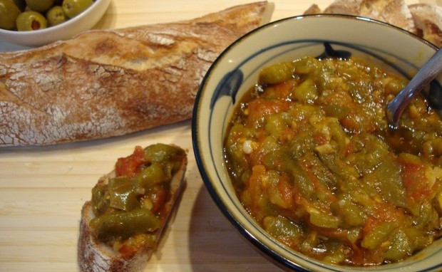 Baya's Algerian Green Pepper Spread