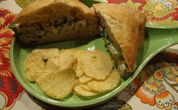 Deli-style Chicken Salad Sandwich