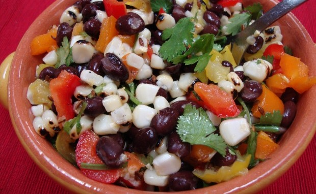 Easy Sweet Corn and Bean Salad