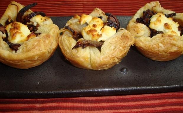 Mushroom and Caramelized Onion Bites