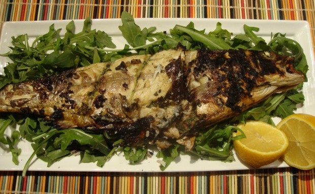 Grilled Whole Bronzini