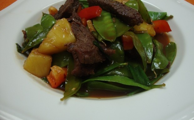 Lip Smackin' Beef and Vegetable Stir-fry