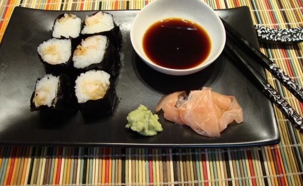 Shrimp Tempura Sushi Rolls