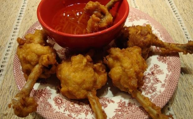 Spicy Chicken Lollipops