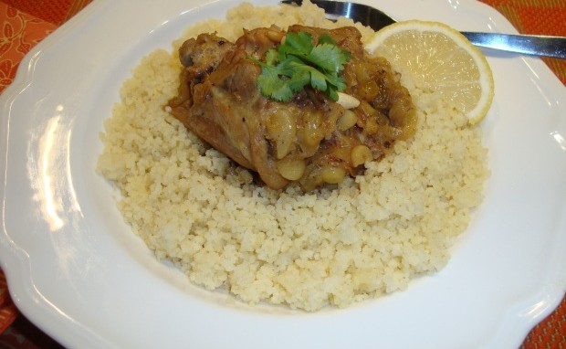 Chicken-Date Tagine