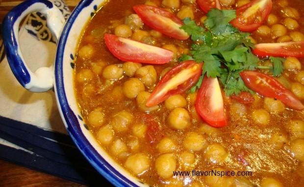 Chana Masala/Indian Chickpeas Curry