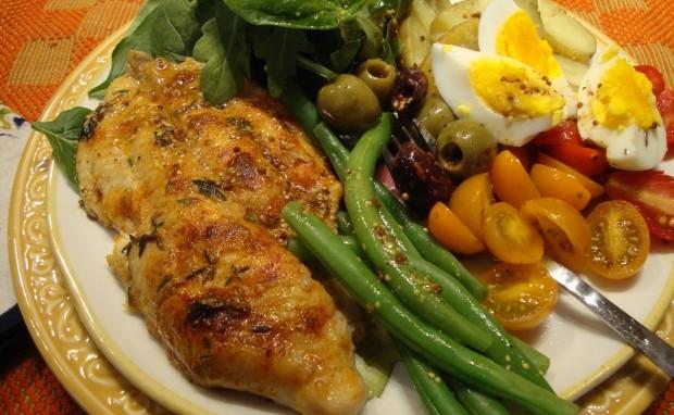 Spicy Nicoise Salad