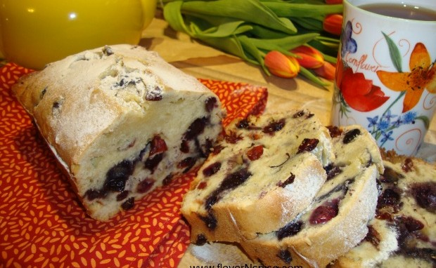 Blueberry Cranberry Teacake