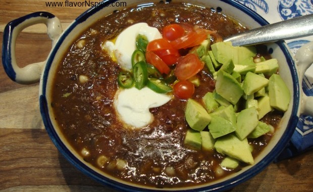 Black Bean and Vegetable Soup