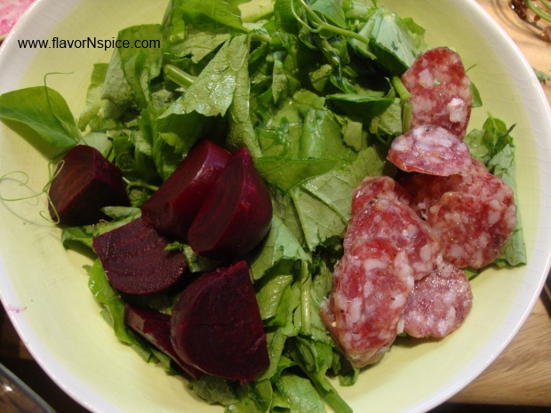 beet, salami, chevre salad-10
