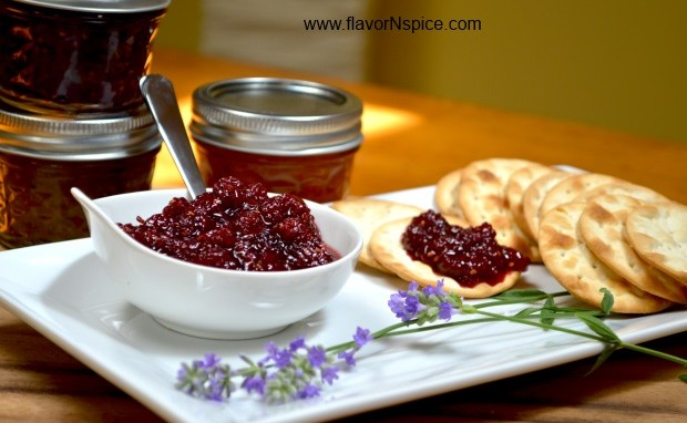 Mulberry Lemon Jam