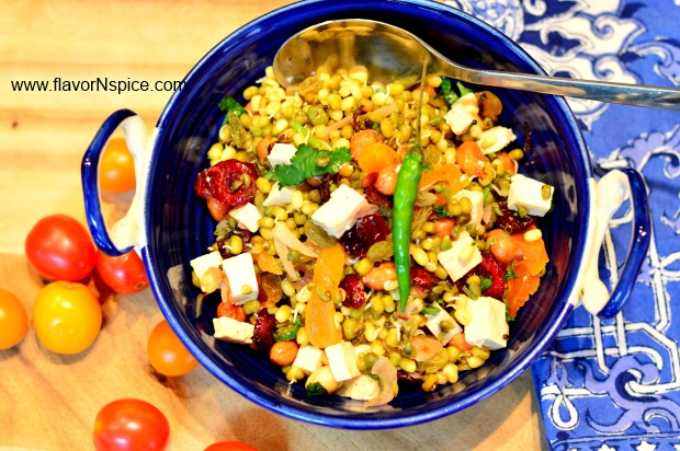 Sprouted Moong Warm Salad-11