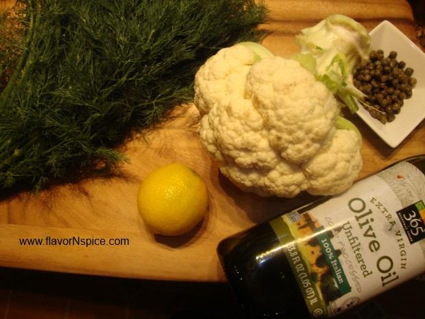 roasted-cauliflower-peashoot-salad-paint-3