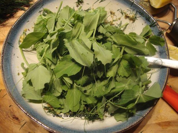 roasted-cauliflower-peashoot-salad-paint-7