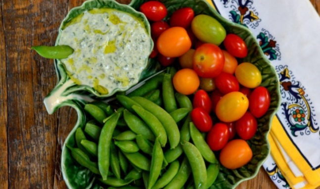 Herbed Goat-Cheese Dip
