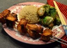 Grilled Asian Swordfish Kabobs