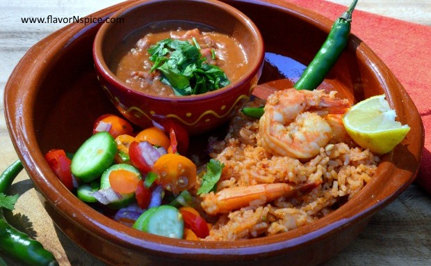 Mexican Shrimp and Rice