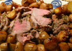 Boneless Leg of Lamb with a Ras El Hanout Marinade