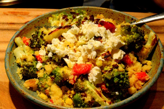 Roasted Romanesco Cabbage with Couscous-11
