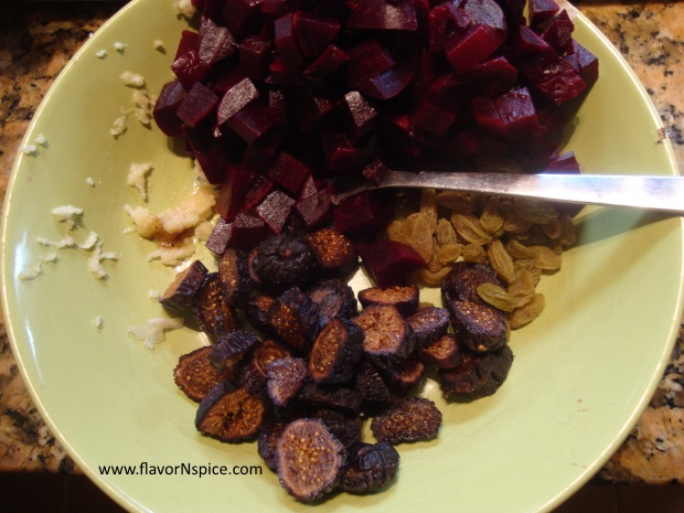 beet salad with figs and feta-6