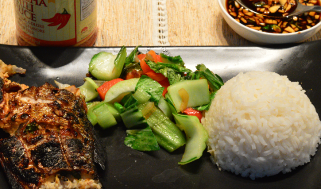 Indonesian Grilled Bronzini