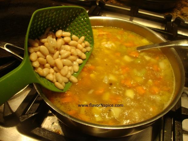 Leftover Ham-bone Soup-9